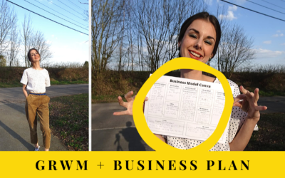 Vlog 7 avril : GRWM + Business plan de mon e-shop